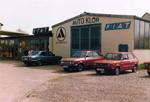 Autohaus Klör in den 70ern